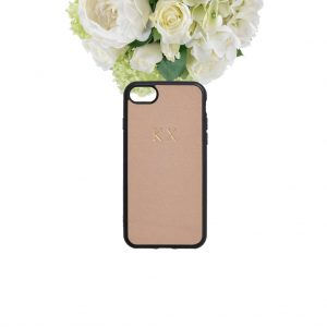 Telefoonhoesje Apple iPhone 7 / iPhone 8 hoes in beige